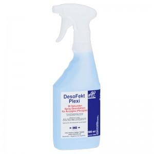 DesoFekt Plexi Schnelldesinfektion 60 Sekunden 500 ml