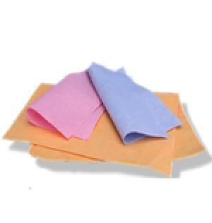 Vlies Tuch rot/blau/gelb 40x40cm