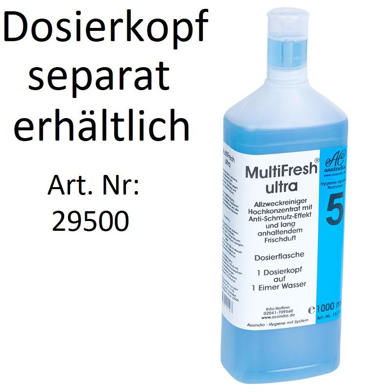 MultiFresh Ultra Allzweckreiniger 1000ml Flasche Ohne Dosierkopf